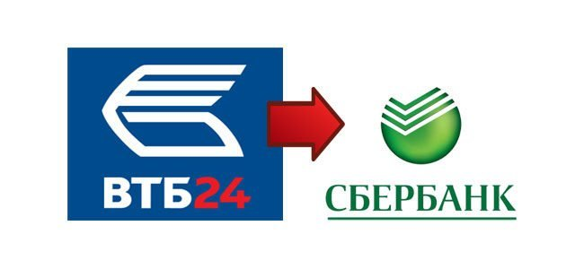 Порядок перевода денег с карты ВТБ на карту Сбербанка