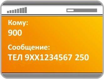 Что можно оплатить через смс на номер 900?