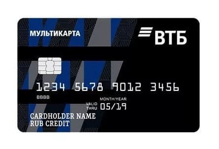 Мультикарта от ВТБ банка