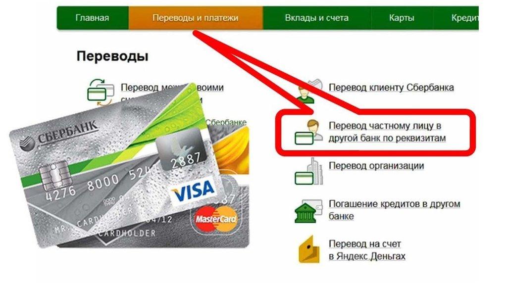 Как перевести деньги на расчетный счет?